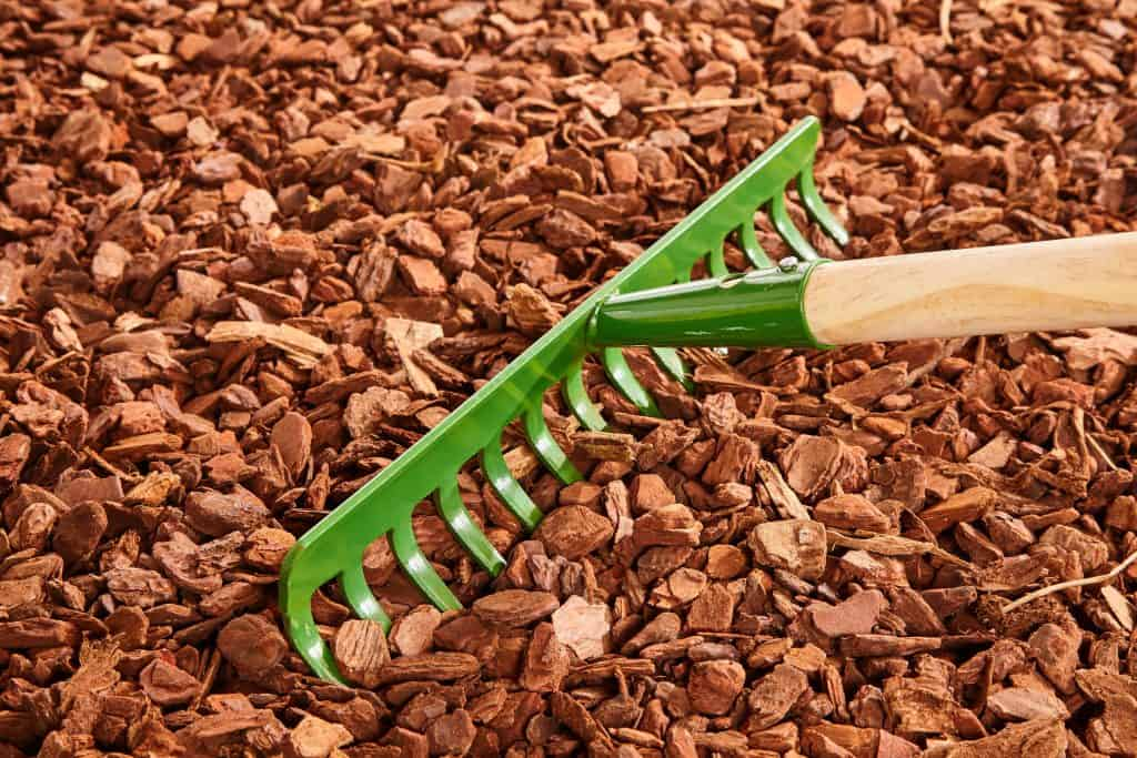 lawrence IN Mulch Installation copy